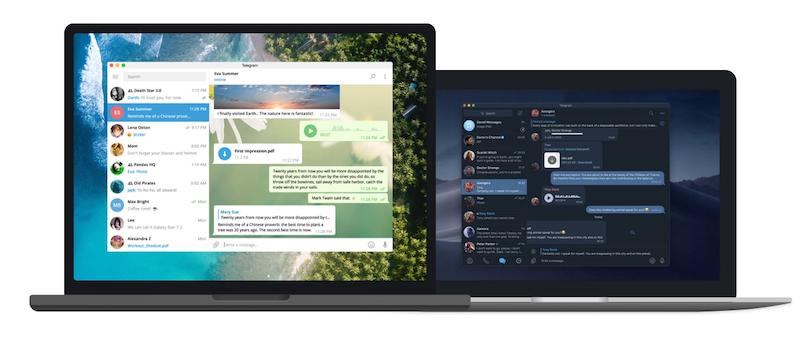 telegram desktop web