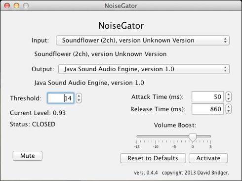 NoiseGator Noise Gate